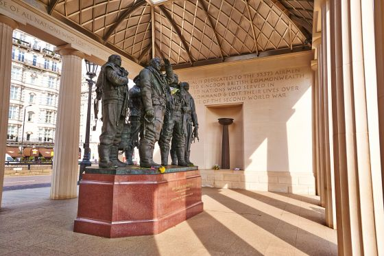 Inside the Bomber Command Memorial