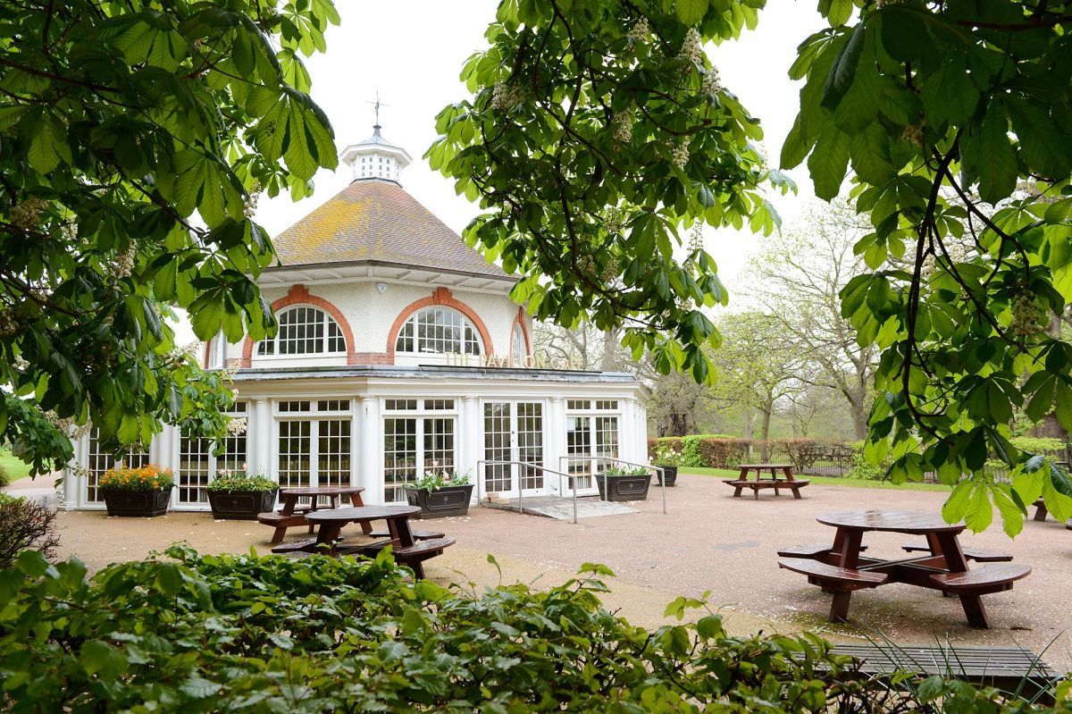 Cozy Home Office The Pavilion Caf 233 Greenwich Park The Royal Parks