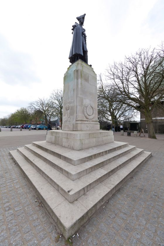 The General Wolfe Statue