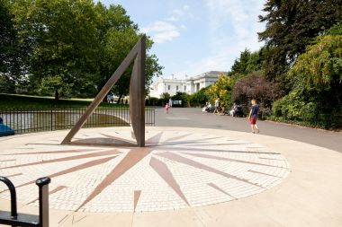 The Sundial in Greenwich Park