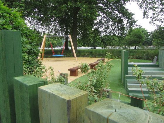 Hyde Park Playground - Play area