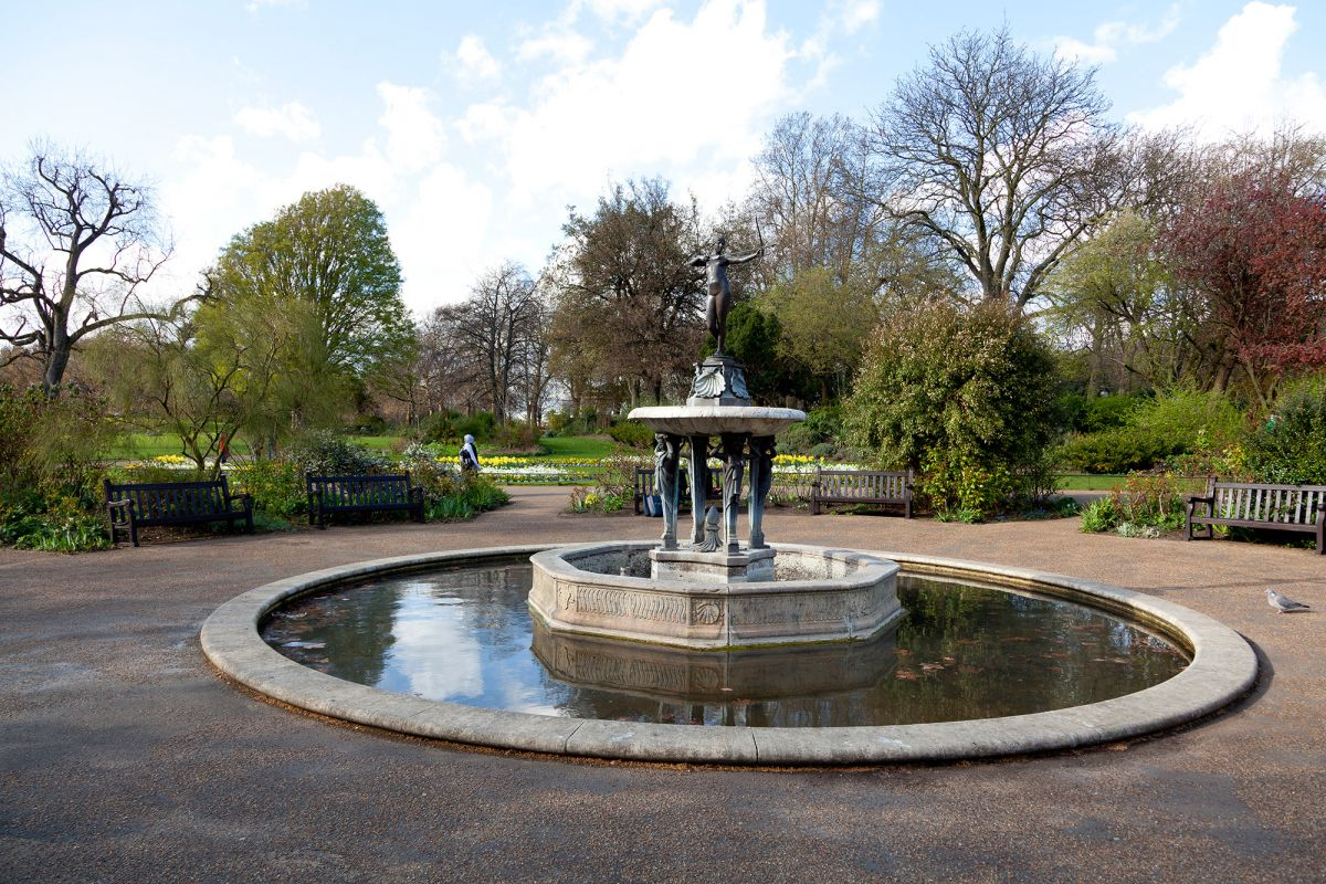 The Huntress Fountain - Hyde Park - The Royal Parks
