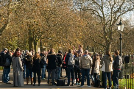 Recent events at Speakers' Corner