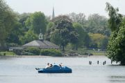 Boating in the Serpentine