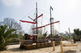 Diana Memorial Playground Pirate Ship