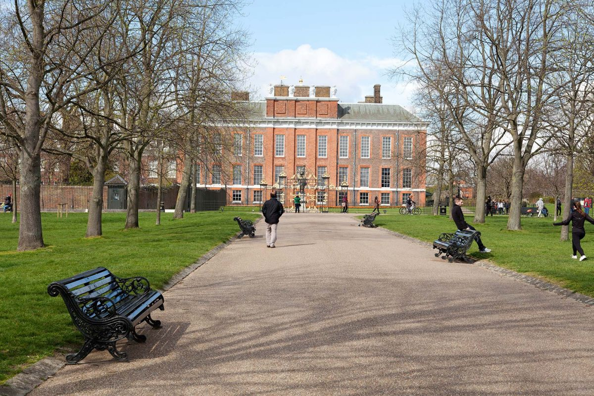 Side Of Kensington Palace