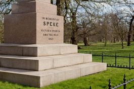 Inscription on the Speke Monument