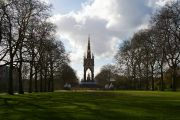Albert Memorial from a distance