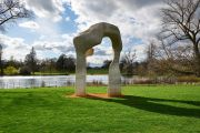 The Henry Moore Arch in early spring