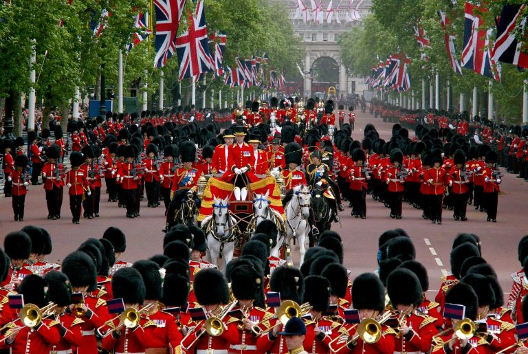 Trooping the Colour - St James's Park - The Royal Parks