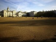Horse Guards Parade and the London Eye