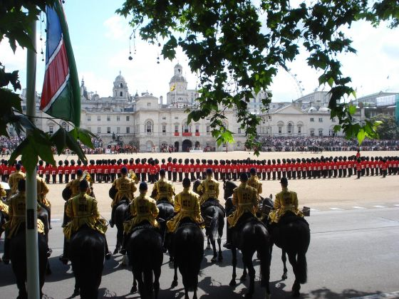 Trooping the Colour at Horse Guards Parade