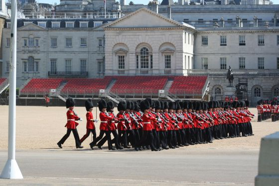 Troops at Horse Guards Parade