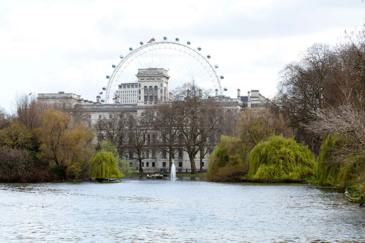 Image result for St James Park london