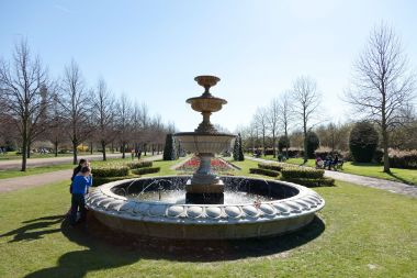 The Avenue Gardens fountain