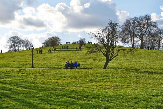 Park visitors to Primrose Hill