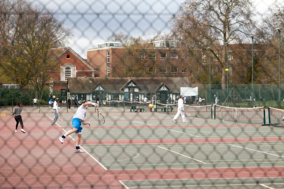 Tennis courts in Regent's Park