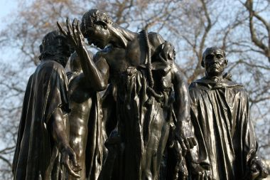 The Burghers of Calais statue