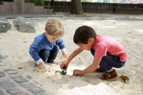 Children playing in the sandpit