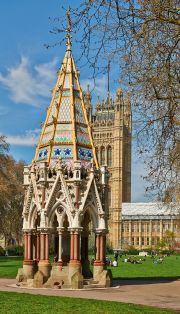 The Buxton Memorial and Westminster Palace